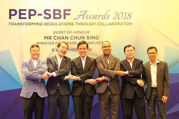 PEP-SBF Awards 2018