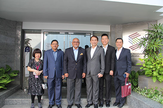 High Commissioner of Malaysia to Singapore Visited the SMF